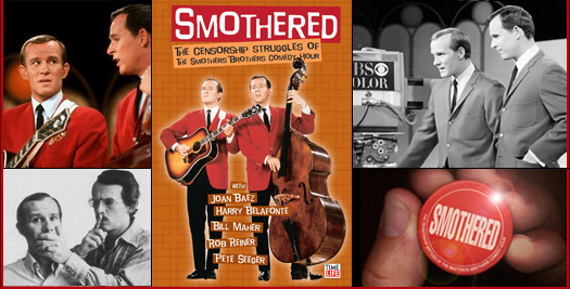 Smothered Smothers Brothers Collage